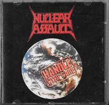 Nuclear Assault-Handle with care CD SIGNED by nastro!!! 1989 cdflag 35/S.O.D.