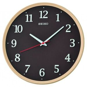 Seiko Wall Clock with Sweep Second Hand QXA731A NEW