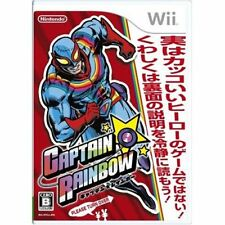 Used Wii Captain Rainbow Japan Import