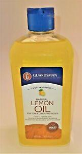 GUARDSMAN NATURAL LEMON OIL FOR TEAK AND OTHER FINE WOODS