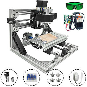 3 Axis CNC Router Kit 1610 5500MW Machine With Laser Engraver Milling DIY