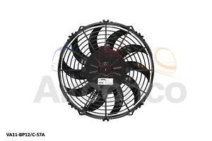 "Spal Axial Fan, VA11-BP12/C-57A, 24v (Pull) 10"" (255mm) - Genuine Product!"