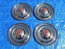 SET OF 1946 1947 1948 CHEVROLET 16 INCH ACCESSORY WHEELCOVERS HUBCAPS