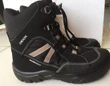 Geox Schuhe Winterstiefel ❄️ Stiefel Stiefelletten schwarz Gr. 32 NEU