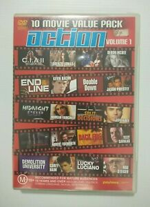 Action Movies Volume 1 - 10 Movie Value Pack