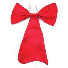 Large Red Elasticated Bow Tie - Fancy Dress Book Week Cat Seuss Hat Costume