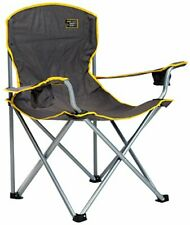 Heavy Duty Chair Sturdy Oversize Camping Portable Folding Lawn Patio 500 Lbs New