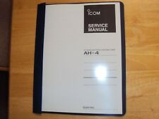 ICOM antenna tuner automatic AH-4  service manual  copy