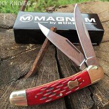 "Boker Magnum 3 3/4"" Red Bone 2 Blade COPPERHEAD Pocket Knife Limited NEW SC106"