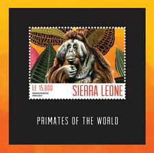 Sierra Leone- Primates of the World Stamp - S/S MNH