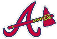 "Atlanta Braves MLB Vinyl Decal - You Choose Size 2""-38"""