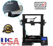 USA! Creality Ender3 3D Printer Resume Print OSHW Certified DC24V 15A