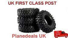 "1/10 RC rock crawler tyre set 1.9""  90mm dia SCX10 CC01   T2"