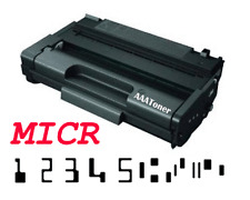 """""""MICR Check Toner Cartridge"""" for  Ricoh Aficio 3400N , SP 3410, 3500N, 3510SF"""