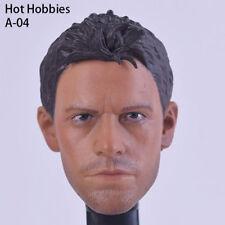 "Custom 1/6 Scale Chris Redfield Head Sculpt A-04  Resident Evil Fit 12"" Figure"