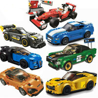 Speed Champions Racing Car Building Block AMG Racer Technic Car Toys