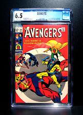 COMICS: Marvel: Avengers #59 (1968), 1st Yellowjacket (Hank Pym) app - CGC 6.5
