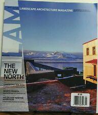 Landscape Architecture Magazine Jan 2017 The New North Artic FREE SHIPPING sb