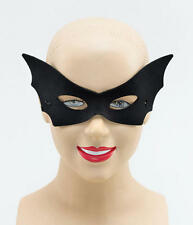 Black Domino Eye Mask Vampire Masquerade Halloween Fancy Dress