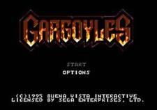 Gargoyles - Sega Genesis Game