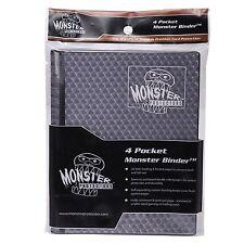 Monster Protector Album Binder 4 Pocket Matte Holo foil Black sideloading CNY