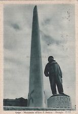 LUGO - Monumento all'Eroe Francesco Baracca - Dettaglio 1939