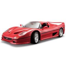 Coche de automodelismo y aeromodelismo de metal blanco Ferrari