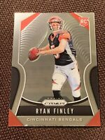 2019 Panini Prizm Ryan Finley Rookie RC NFL Bengals