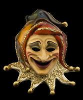 Maschera Di Venezia Joker Carta Pesta Creation Artigianale Per Collezione 22364