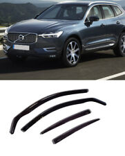 For Volvo Xc60 2018-23 Window Visors Sun Rain Guard Wind Deflectors Window (Fits: Volvo)