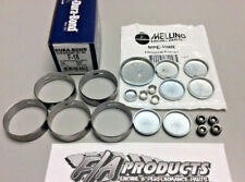 Ford 289 302 351W Dura-Bond F18 Engine Cams Bearings + Melling MPE-108R Plug Kit