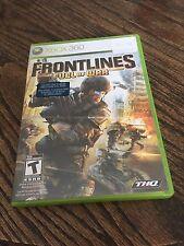 Front Lines Fuel Of War Xbox 360 Cib Game XG3