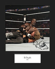 R-TRUTH #2 (WWE) Signed 10x8 Mounted Photo Print - FREE DELIVERY