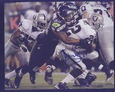 Malcolm Smith Super Bowl MVP Seahawks vs Raiders Autograph C Blue Pen