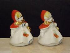 Hull Little Red Riding Hood Salt & Pepper Shakers PICTURES WITHIN DESCRIPTION