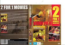 Kung Fu:The Punch of Death-1972-Fei Meng/Duel of The Iron Fist-1971-2  Movie-DVD