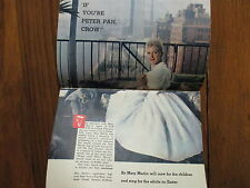 March 28, 1959  TV  Guide (MARY MARTIN/PATRICIA  BARRY/HORACE  McMAHON/PETER PAN