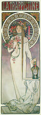 "Alphonse (Alfons) Mucha- La Trappistine, 1897- 20""x48"" CANVAS ART"