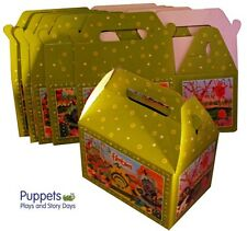 6 x Childrens Fimbles Girls Boys Birthday Party Gift Food Boxes Kids Parties