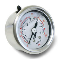 *GENUINE* TURBOSMART Fuel Pressure Gauge 0 - 100 psi 1/8 NPT Fitting