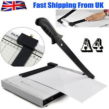 PROFESSIONAL OFFICE GUILLOTINE A4 PAPER PHOTO CARD CUTTER TRIMMER HEAVY DUTY HOT
