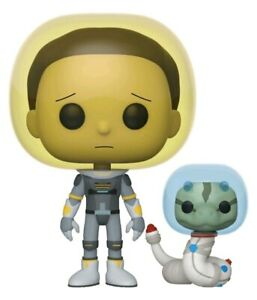 Rick and Morty - Morty Space Suit with Snake Pop! Vinyl-FUN45435-FUNKO