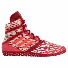 Adidas Flying Impact Red White Diggital Wrestling Shoes ( Ac7491 ) size 9.5