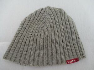 Old Navy 94 Gray Baby M 6 - 12 Months Size Beanie Cap Hat Great