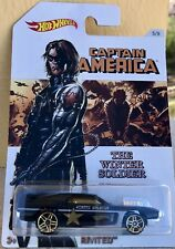HOT WEELS Captain America The Winter Soldier 5/8