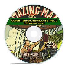 Super Hero, Villains, Vol 3, Punch, Dynamic Comics, Golden Age Comics DVD D68