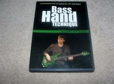 Bass Hand Technique featuring Jeff Warren Interactive Dvd Training Edition