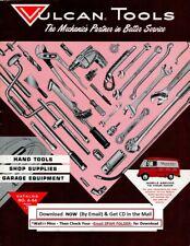 1964 Vulcan Hand Tools, Shop Supplies & Garage Equipment Catalog No. A-64