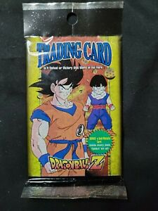 Vintage Dragonball Z Trading Cards Pack from Series 2 -factory  Sealed