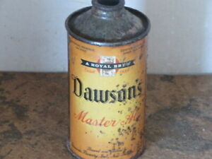 DAWSONS. MASTER. ALE.  SOLID.  COLORFUL IRTP.   CONE TOP